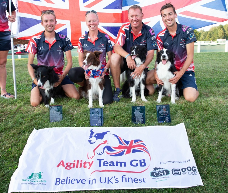 Agility Team GB Win Silver Medal At The European Open Championships