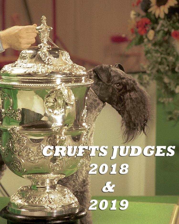 Crufts Judges For 2018 & 2019